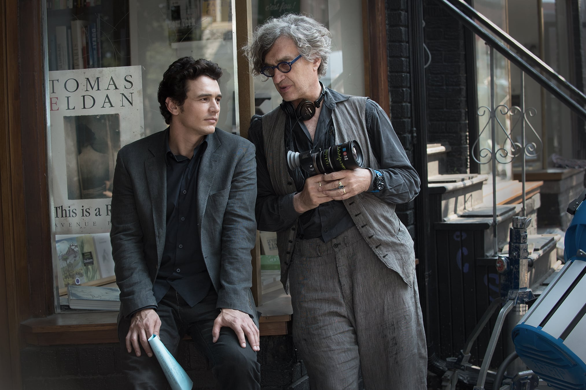 James Franco and Wim Wenders