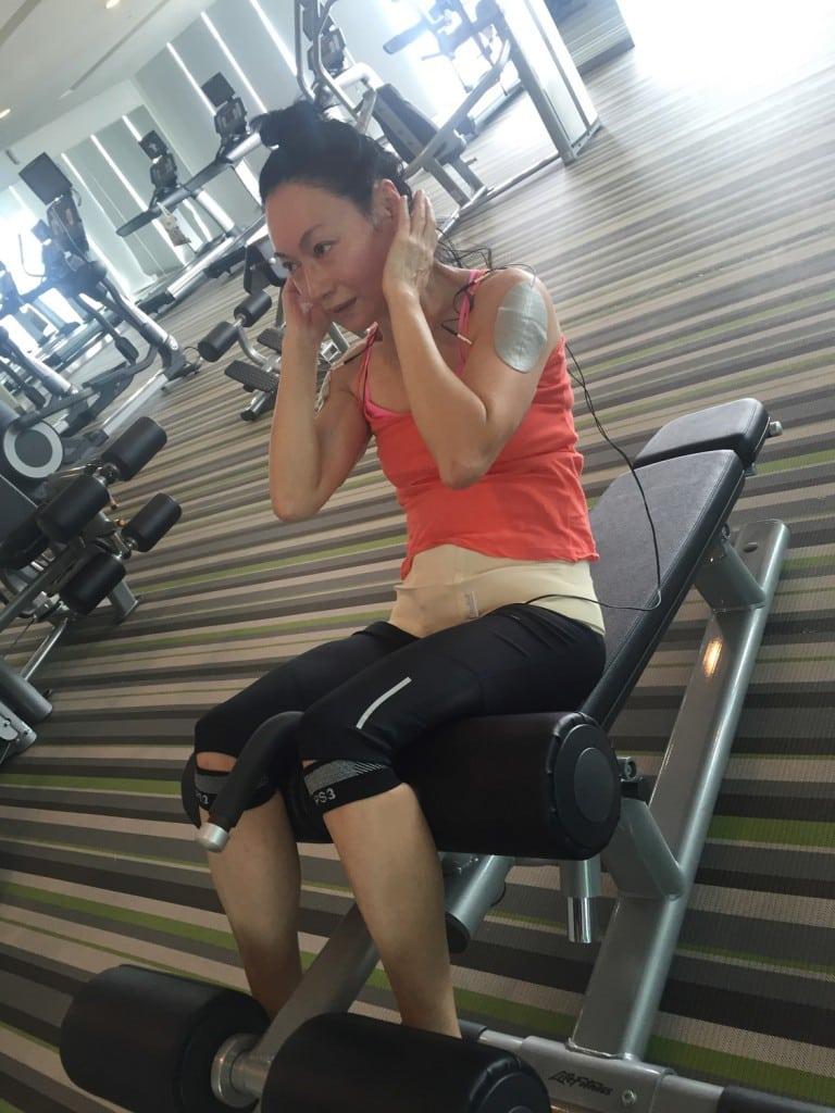《Mrs K》 惠英紅對自己身體進行鍛鍊