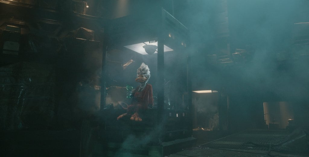 Marvel's Guardians Of The Galaxy..Howard the Duck (voiced by Seth Green)..Ph: Film Frame..©Marvel 2014